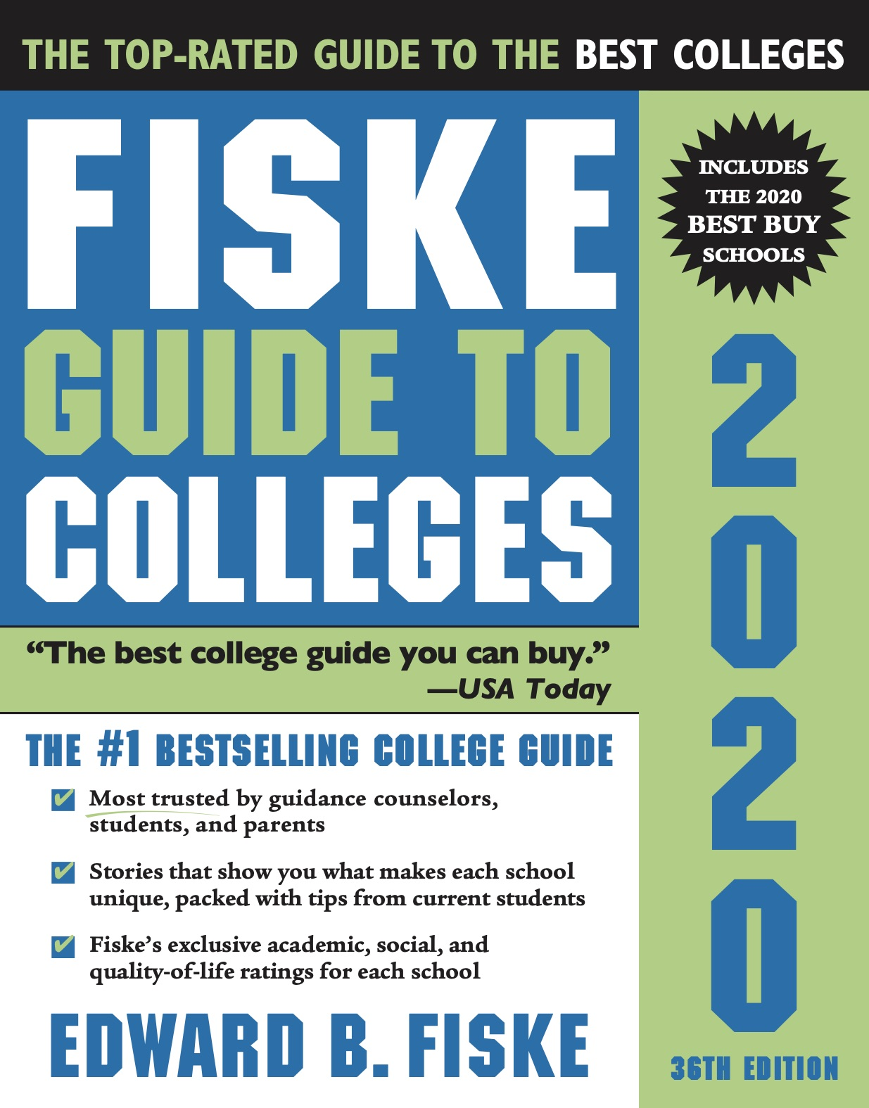 Fiske Guide to Colleges 2020插图